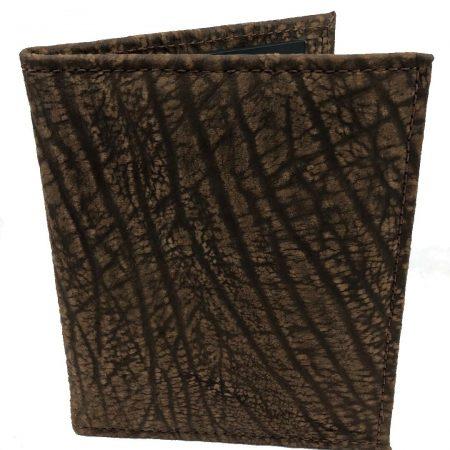 Cape Buffalo Hide Folio / Notepad