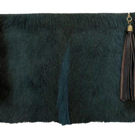 Springbok & Leather Folio Clutch Purse StyleB