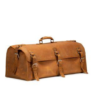 Beast Leather Duffle Bag