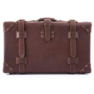 Hardsided Leather Luggage