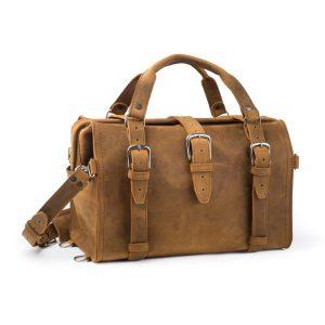 Doctors Leather Duffle Bag