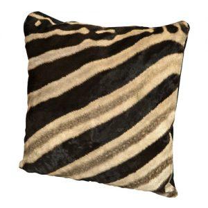 Burchell Zebra Skin Pillow